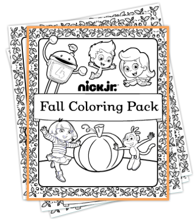 nick jr has several available fall coloring pack halloween coloring pack and more there are several available with different characters - Nick Jr Characters Coloring Pages