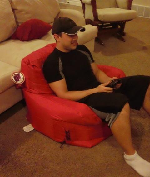 Marvelous Big Joe Dorm Bean Bag Chair Only 25 Reg 39 Check Out Gamerscity Chair Design For Home Gamerscityorg