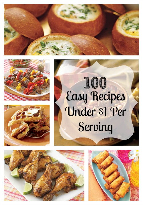 100 Cheap And Easy Recipes Under 1 Per Serving