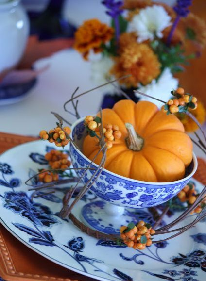 Must Have Thanksgiving Tablescapes - 8 simple diy food centerpieces for thanksgiving to try