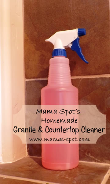 Marble Sink Cleaners : Make it yourself monday homemade granite countertop